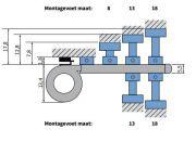 Terrasoverkapping zonwering V612 - Hamar
