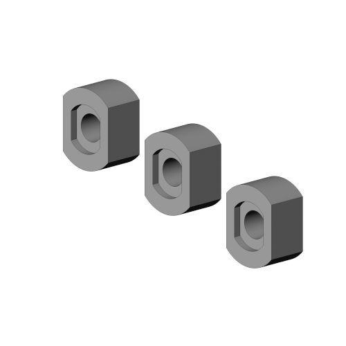 Opvulbusjes 10 mm stapelbaar