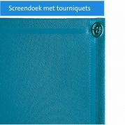 Screendoek met tourniquets