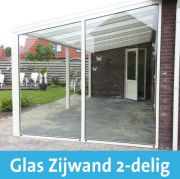 Glaswand overkapping